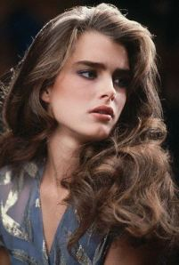 Studio Portrait of Brooke Shields